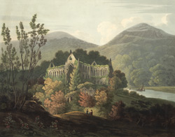 South-east view of Tintern abbey